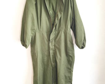 Army Green Coveralls