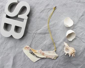 Porcelain Statement Necklace