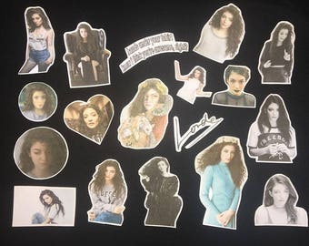 lorde / 18pc sticker pack