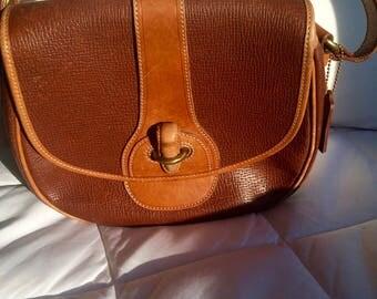 Vintage Coach Dakota Cassidy Bag, Made in Italy