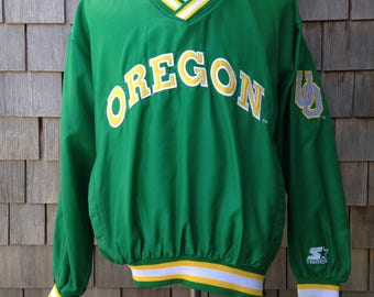 Vintage 90s Oregon Ducks Starter jacket - Small / Medium - University of Oregon - pullover