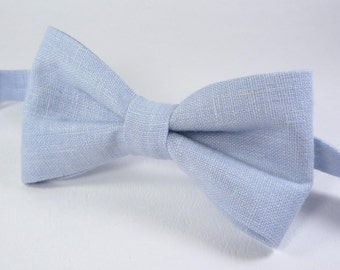 Light Blue Bow Tie, Sky blue bow tie, Men's blue bow tie, Summer bow tie, Mens blue ties, baby blue bow tie, boy's, toddler's, baby's