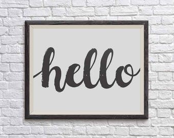 Welcome Wall Decor welcome wall art   etsy