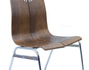 Hans Bellmann Style Chair Mid Century Modern