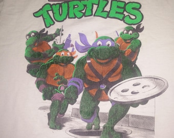 Vintage Mens Teenage Mutant Ninja Turtles tshirt