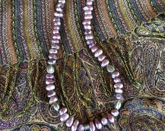 Ethnic Hamsa Pearl Necklace