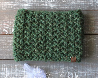 Cozy Cowl Knit Infinity Scarf for Child One Size