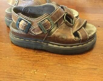 Vintage 90's Dr. Martens Leather Sandals