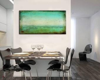 Original art, Green Abstract painting, Green Art, Abstract Art, Painting, Art, On Canvas, On Canvas, Wall art, Wall decor, Oil Painting