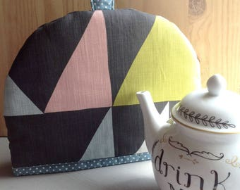 Teapot cosy - 'Abstract' Tea Cosy - Fabric tea cosy - New home gift