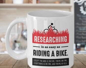 Phd Student Gift, Phd Mug, Phd Gift, Research Mug, Scientist Gift, Research Gift, Researcher Gift, Funny Researcher, Funny Phd Gift Mug