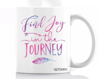 Find Joy in the Journey Coffee Mug