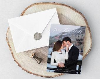 Save the Date, Printable Save the Date, Save the Date Card, Calligraphy Save the Date, Wedding Save the Date, Wedding Invitation