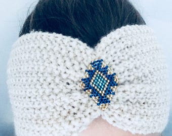 Ethnic jewel headband