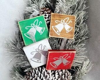 Christmas ornaments. Christmas Bells. Wooden Handmade Christmas ornaments. Rustic Christmas decorations. Christmas signs. Christmas gift.