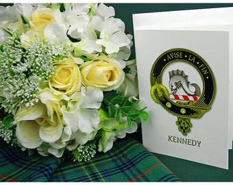 Greeting Cards Clan & Crest - Kennedy