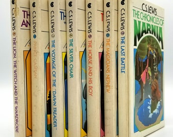 The Chronicles of Narnia (7  Book Box Set) by C.S. Lewis 1970 Collier with Slipcase