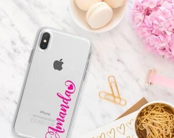 PERSONALIZED iPhone X Case, iPhone 8 Plus Case, iPhone 7 Plus Case, iPhone 6s Plus Case, iPhone 6 Plus Case, iPhone SE Case, iPhone 8 Case