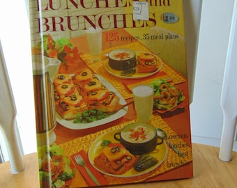 Lunches and Brunches , 1963 , Better Homes & Garden ,  BHG , OOP