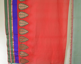 Indian saree curtain partition curtain scarves curtain gypsy curtain hippy shower sari curtain sheer curtain Room divider SKCT26