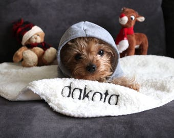 CUSTOM PET BLANKET (small) | Sherpa Pet Blanket, Custom Dog Blanket, Custom Blanket, Small Blanket, Personalized Blanket, Dog Accessories