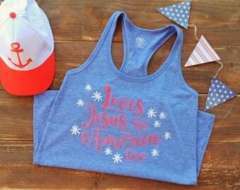 Loves Jesus and America too shirt, loves Jesus shirt, custom shirt, custom made