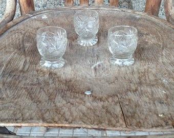 Vintage Shot Glasses, Vintage Barware, Vintage Glasses, Retro Shot Glasses, Bar Glasses, Drinking Glasses, Shot Glasses Set.