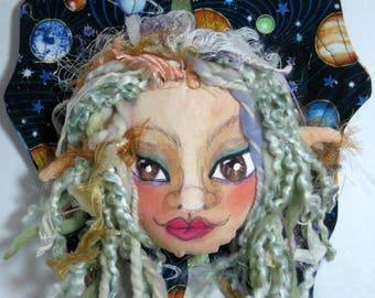 Galaxy Fairy Sprite Elf Door Knob Hanger