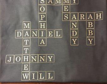 Crossword Name Shirt