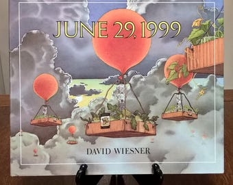 June 29, 1999 - David Wiesner - First Edition Childrens Books, Kids Books, Picture Books, Fantasy, Science Project, Vegetables, Farm