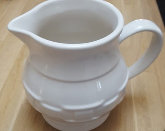 Longaberger Woven Traditions Ivory Pitcher