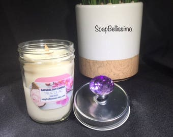 Natural Soy Candle w/ Wood Wick
