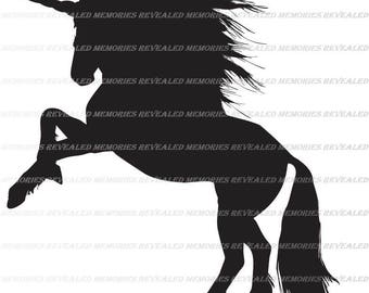 Unicorn Svg File, Unicorn Cricut File, Unicorn Silhouette File, DXF File, EPS File, CNC Template, Sewing Pattern, Cut File, Fantasy Svg,
