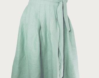 Hanbok midi skirt(Costume)linen