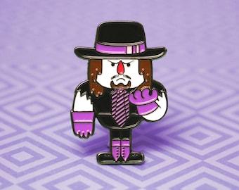 Enamel Pin Undertaker | Wrestling Enamel Pin WWF WWE