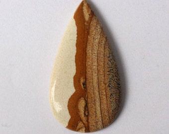 Picture Jasper Cabochons Rare Quality Jasper Top Quality Handmade loose stone gemstone Jewellery Making 31ct{ 40 x 21}mm#3819