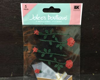 Jolee's Boutique Roses Stickers