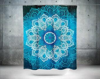 mandala duschvorhang boho duschvorhang boho dekor hippie duschvorhang bhmische - Fantastisch Badezimmereinrichtung