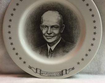 Dwight D. Eisenhower Collector Plate (#039)