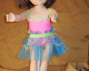 18 inch doll dance outfit