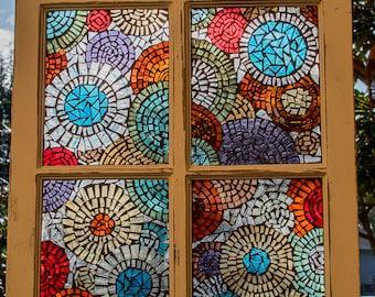 Stained Glass, Mosaic, Glass Art, Windows, Window Art, Wall Art, Mosaic Art,