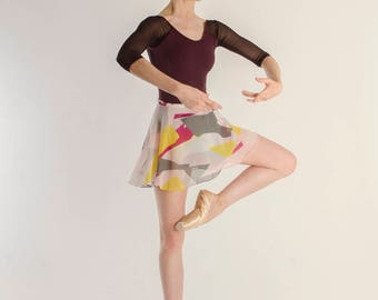 Abstract pink ballet skirt