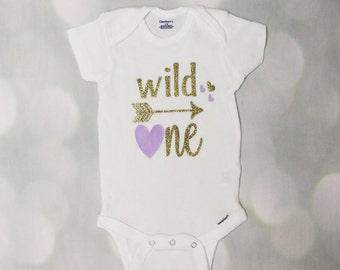 Wild One First Birthday Outfit, Girl First Birthday Outfit, Wild One Outfit, Lavender Birthday Outfit, Lavender Tutu, Wild One Shirt, Girl