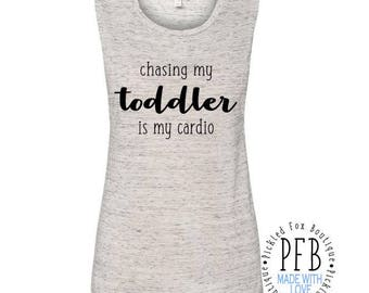 Chasing My Toddler Is My Cardio