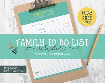 Daily Planner, Chores Chart, Chores, Family To Do List, Home Management, Chores List, Daily Schedule, Family Chore Chart, To Do List