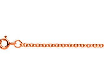 """9ct Rose Gold Trace Chain 