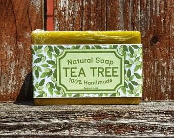 Tea Tree | Natural Bar Soap