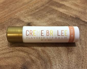 CREME BRULEE Lip Balm - All Natural - Homemade