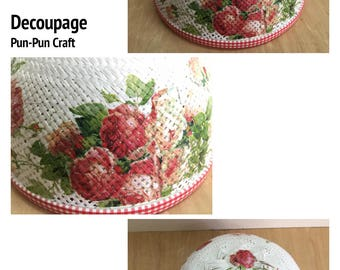 Decoupage / Food cover