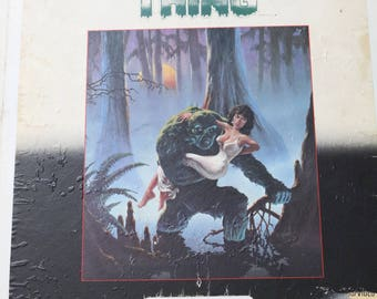 Swamp Thing Laserdisc